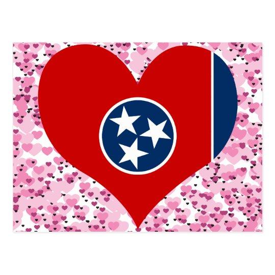 Buy Tennessee Flag Postcard