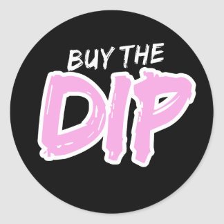 Buy the Dip Pink Print Sticker