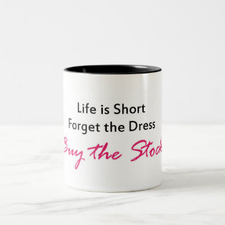 Buy the Stock Two-Tone Coffee Mug
