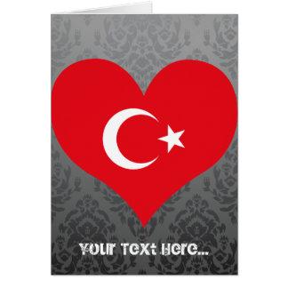 Buy Turkey Flag Card