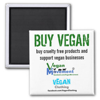 BUY VEGAN MAGNET