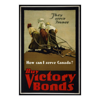 Buy Victory Bonds Poster