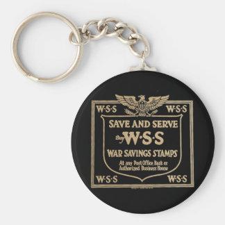 Buy War Savings Stamps Vintage World War I Key Chain