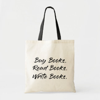 Buy, Write, Read Totebag Tote Bag