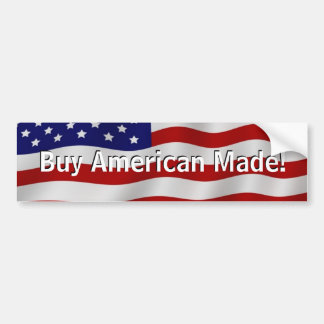 BuyAmerican Made Bumper Sticker