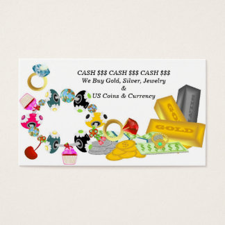 Buying Gold and Silver Business Card