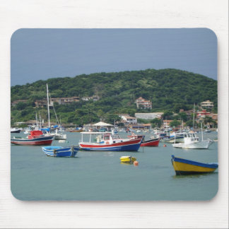 buzios boats mouse pad