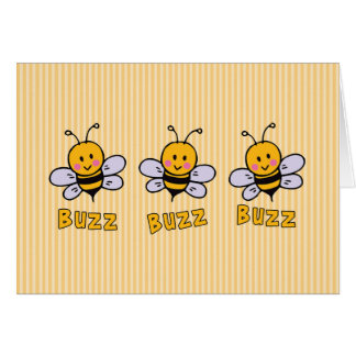 Buzz Buzz Bee Card
