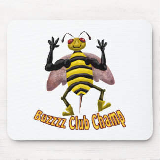 Buzz Club 2 Mouse Pad