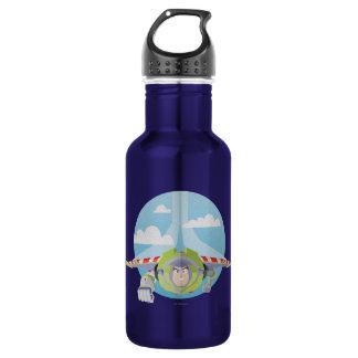 Buzz Lightyear Flying Despeckled Retro Graphic 532 Ml Water Bottle