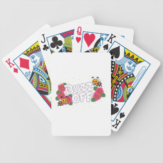Buzz Off Bicycle Playing Cards