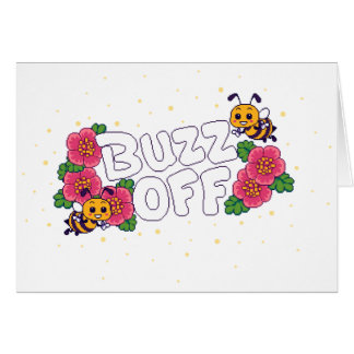 Buzz Off Card