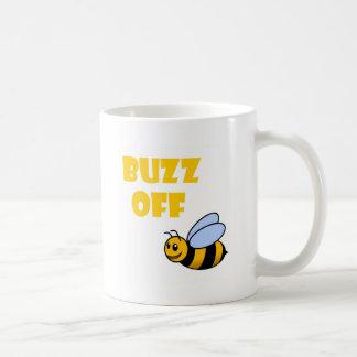 buzz off coffee mug