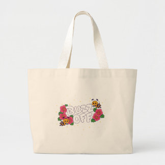 Buzz Off Large Tote Bag