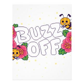 Buzz Off Letterhead