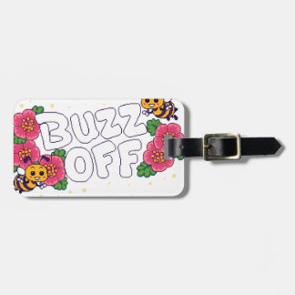 Buzz Off Luggage Tag