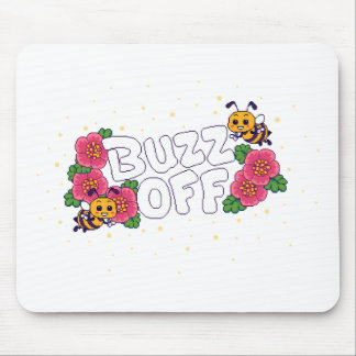 Buzz Off Mouse Pad