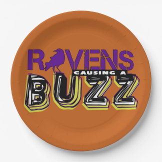 Buzz Party! 9 Inch Paper Plate