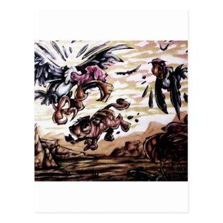 buzzard bait postcard