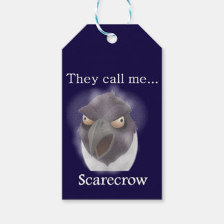 Buzzard in a Blizzard tagalong Crow Gift Tags