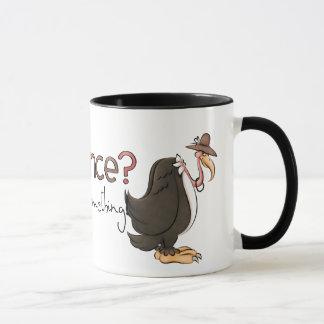 Buzzard Patience mug