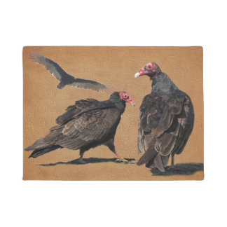 BUZZARDS DOORMAT