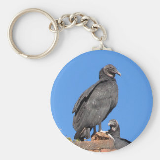 Buzzards Looking At You Key Rings Basic Round Button Keychain
