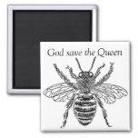 buzzart queen bee magnets