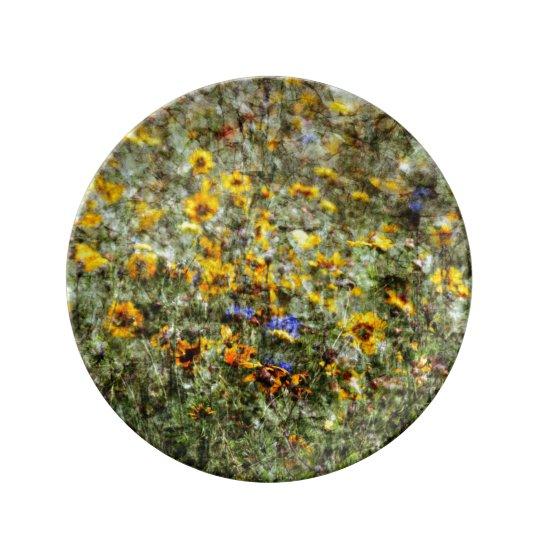 Buzzer Meadow Porcelain Plates