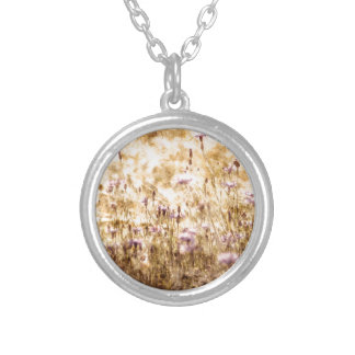 Buzzer Meadow Silver Plated Necklace