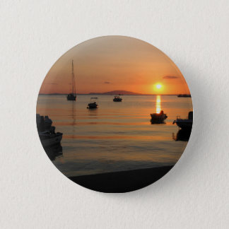 Buzzer Sunset in Novalja in Croatia 2 Inch Round Button