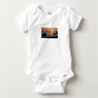 Buzzer Sunset in Novalja in Croatia Baby Onesie