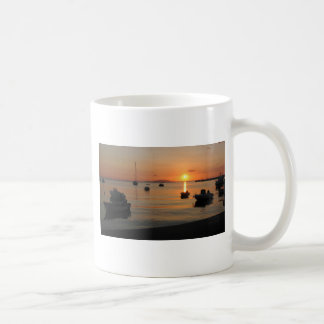 Buzzer Sunset in Novalja in Croatia Coffee Mug