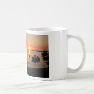 Buzzer Sunset in Novalja in Croatia Coffee Mug