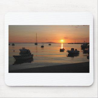 Buzzer Sunset in Novalja in Croatia Mouse Pad