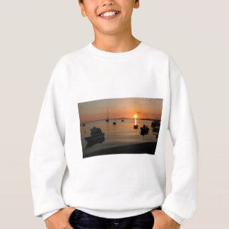 Buzzer Sunset in Novalja in Croatia Sweatshirt
