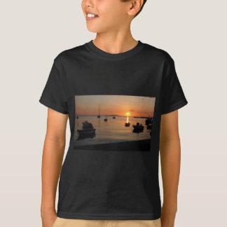 Buzzer Sunset in Novalja in Croatia T-Shirt