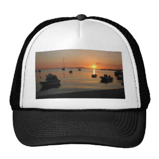 Buzzer Sunset in Novalja in Croatia Trucker Hat