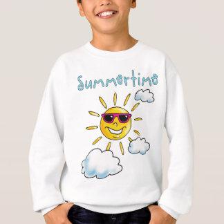 buzzer time comic sun sunshine sunglasses sweatshirt