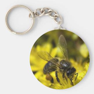 Buzzy bee keychain