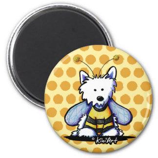 Buzzy Bee Westie Magnet