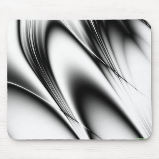 bw4 black and white curves mouse pad