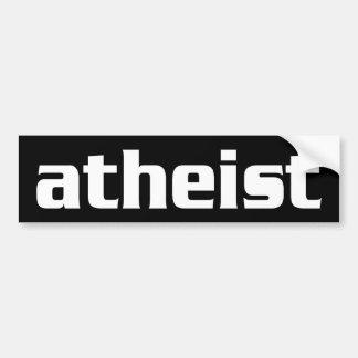 BW_atheist1 Bumper Sticker