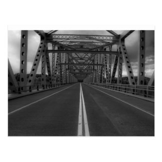 BW Bridge Postcard