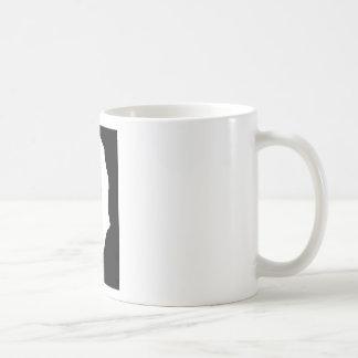 bw figure basic white mug