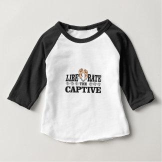 bw liberate captive baby T-Shirt