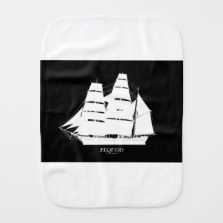 BW pequod Burp Cloth