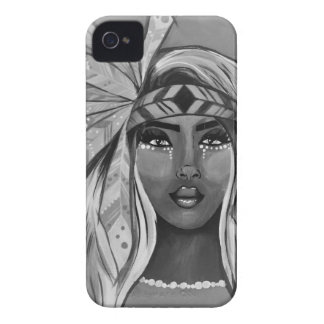 BW Princess iPhone 4 Cases