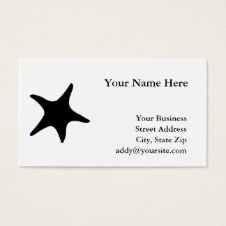 BW Starfish Business Card