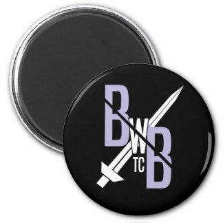 BWB New Logo Stamp Manget Magnet